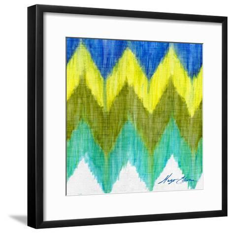 Brilliant Chevron II-Hugo Edwins-Framed Art Print