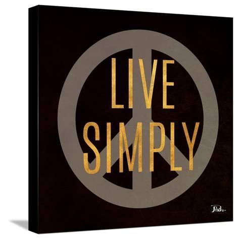 Love and Live II-Patricia Pinto-Stretched Canvas Print