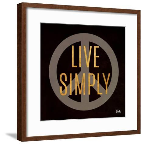 Love and Live II-Patricia Pinto-Framed Art Print