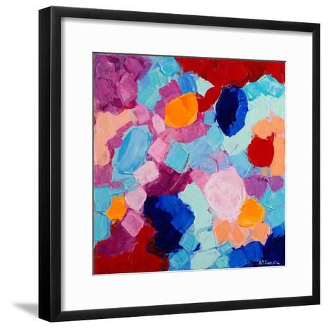 Flower Amoebic Party I-Ann Marie Coolick-Framed Art Print