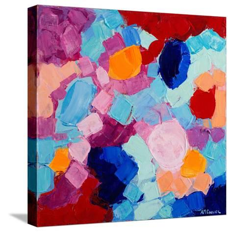 Flower Amoebic Party I-Ann Marie Coolick-Stretched Canvas Print