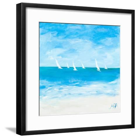 Windjammer II-Julie DeRice-Framed Art Print