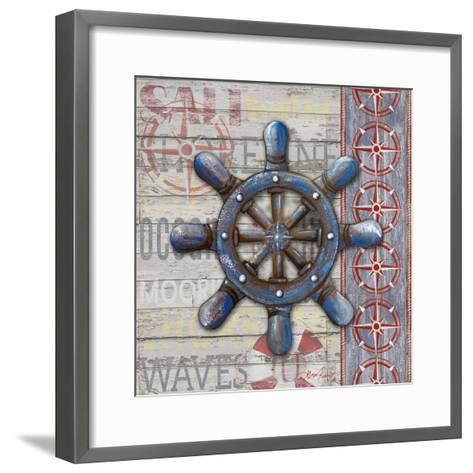 A Sailor's Life II-Gina Ritter-Framed Art Print