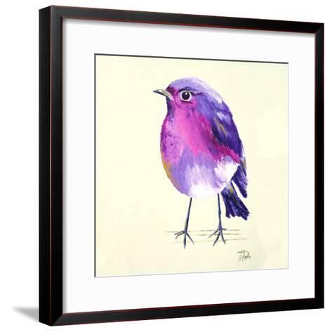 Purple Bird II-Patricia Pinto-Framed Art Print