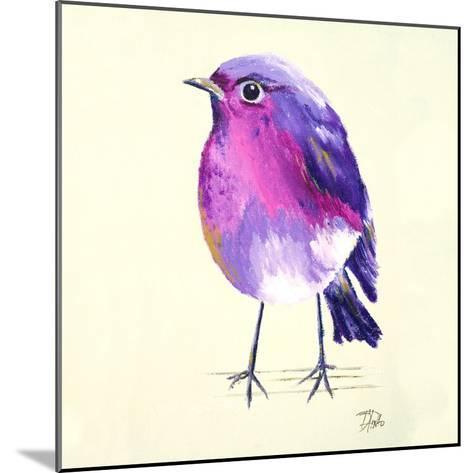 Purple Bird II-Patricia Pinto-Mounted Art Print