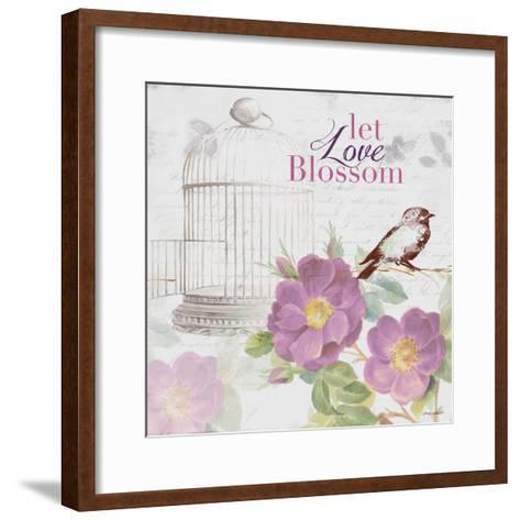 Grow and Blossom II-Lanie Loreth-Framed Art Print