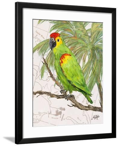 Another Bird in Paradise II-Julie DeRice-Framed Art Print