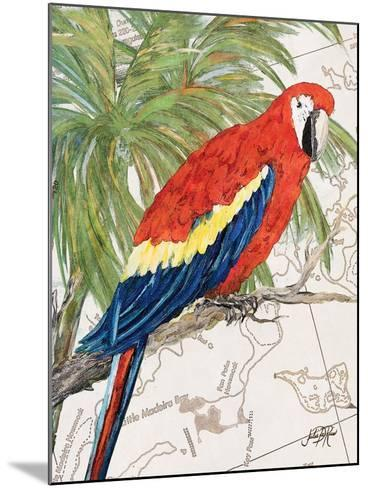 Another Bird in Paradise I-Julie DeRice-Mounted Premium Giclee Print