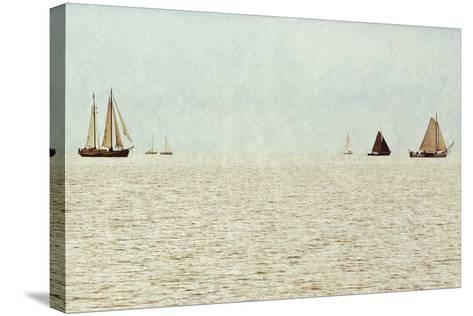 Sail Boats-Kathy Mansfield-Stretched Canvas Print