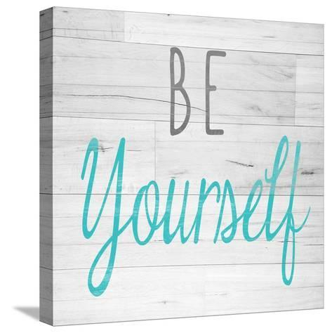 Be Yourself Square-SD Graphics Studio-Stretched Canvas Print