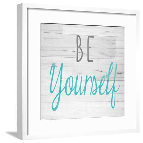 Be Yourself Square-SD Graphics Studio-Framed Art Print