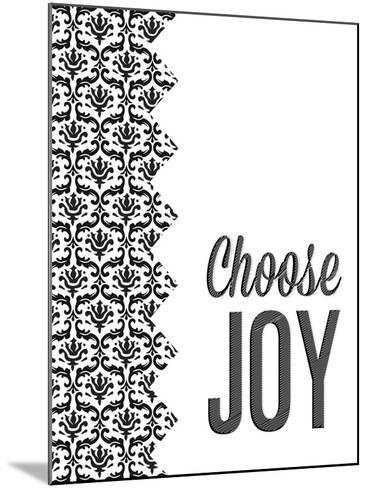 Be Simple Choose Joy II-SD Graphics Studio-Mounted Premium Giclee Print