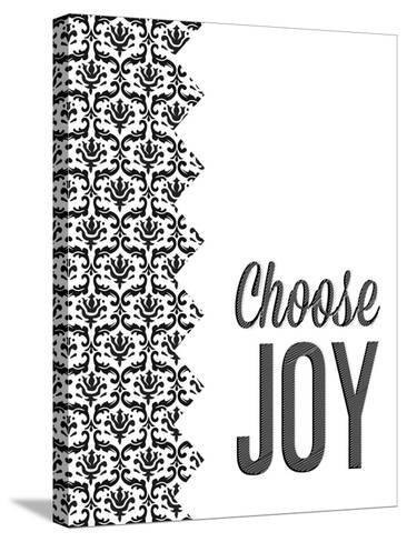 Be Simple Choose Joy II-SD Graphics Studio-Stretched Canvas Print