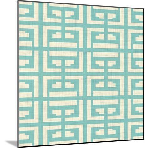 Box Pattern I-SD Graphics Studio-Mounted Premium Giclee Print