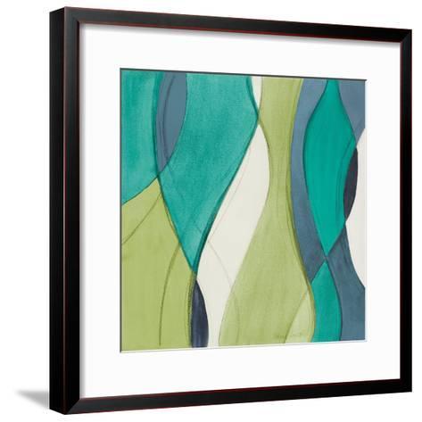 Coastal Greens Coalescence II-Lanie Loreth-Framed Art Print