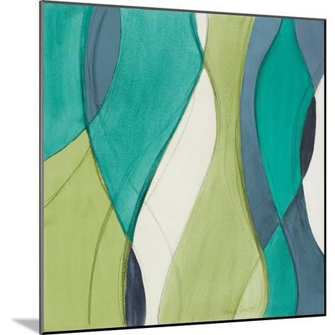 Coastal Greens Coalescence II-Lanie Loreth-Mounted Premium Giclee Print