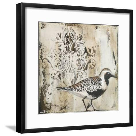 Couture Sandy Shore II-Tiffany Hakimipour-Framed Art Print