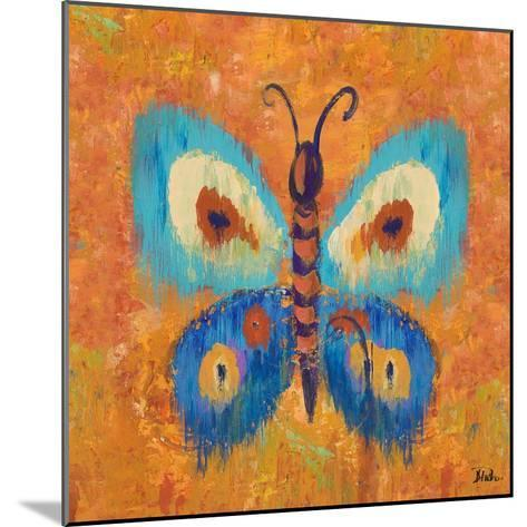 Ikat Flutter Square I-Patricia Pinto-Mounted Art Print