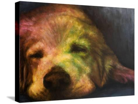 Dog Day Afternoon-Walt Johnson-Stretched Canvas Print