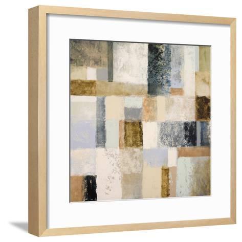 Mid Geometry I-Michael Marcon-Framed Art Print