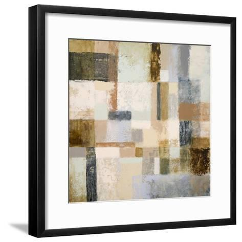 Mid Geometry II-Michael Marcon-Framed Art Print
