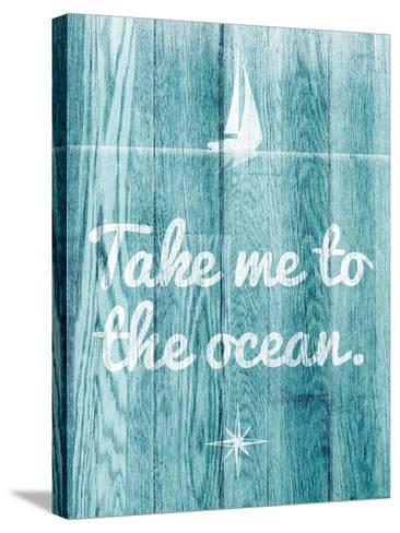 To the Ocean-SD Graphics Studio-Stretched Canvas Print