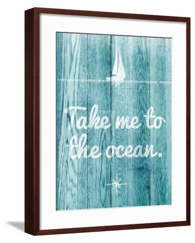 To the Ocean-SD Graphics Studio-Framed Art Print