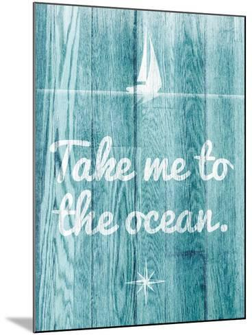 To the Ocean-SD Graphics Studio-Mounted Premium Giclee Print
