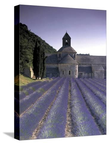 Abbey De Senanque, Provence, France-Marcel Malherbe-Stretched Canvas Print