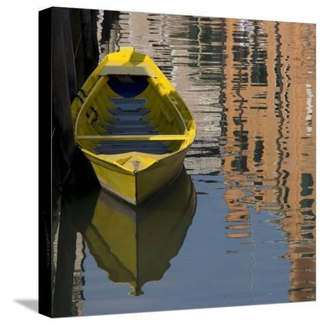 Venice Sense of Place-Mike Burton-Stretched Canvas Print