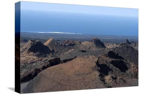 Landscape of the National Park of Timanfaya, Lanzarote, Spain-Natalie Tepper-Stretched Canvas Print
