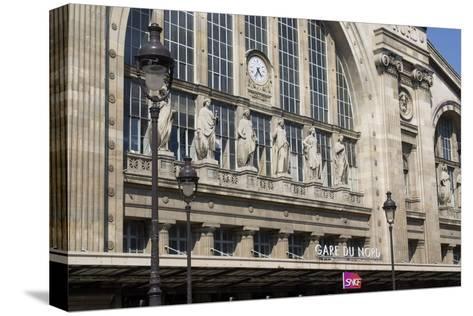Gare Du Nord Train Station, Paris-Natalie Tepper-Stretched Canvas Print