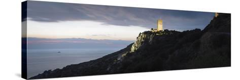 Horizontal, Tainaron Blue Retreat in Mani, Greece-George Meitner-Stretched Canvas Print