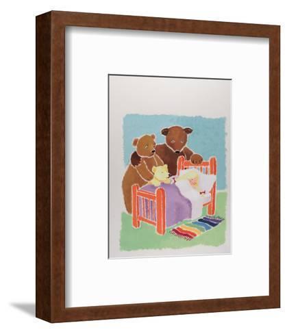 Goldilocks and the Three Bears-Susie Jenkin Pearce-Framed Art Print