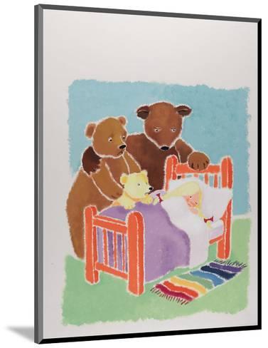 Goldilocks and the Three Bears-Susie Jenkin Pearce-Mounted Art Print