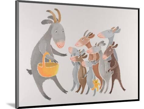The Family with Seven Little Kids-Susie Jenkin Pearce-Mounted Art Print