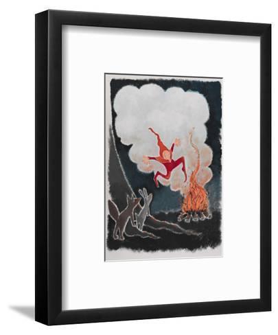 Rumpelstiltskin Dancing in the Night-Susie Jenkin Pearce-Framed Art Print