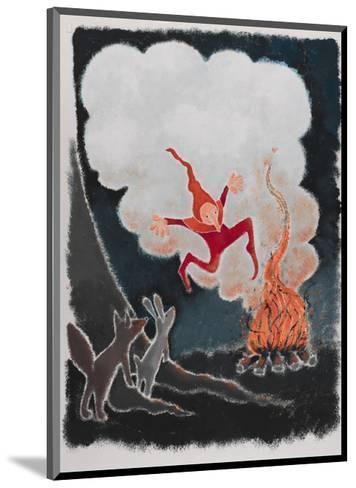 Rumpelstiltskin Dancing in the Night-Susie Jenkin Pearce-Mounted Art Print
