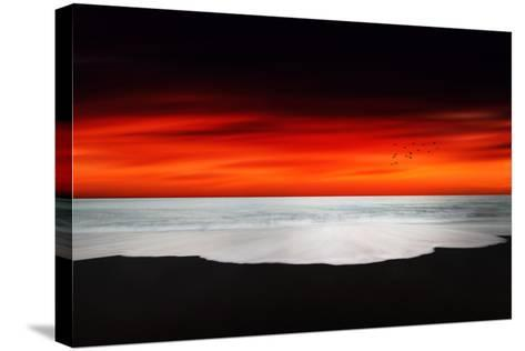 Beyond the Ocean-Philippe Sainte-Laudy-Stretched Canvas Print