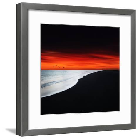 Red Night-Philippe Sainte-Laudy-Framed Art Print