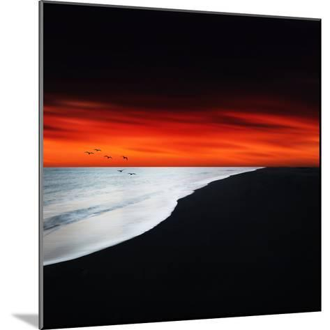 Red Night-Philippe Sainte-Laudy-Mounted Photographic Print