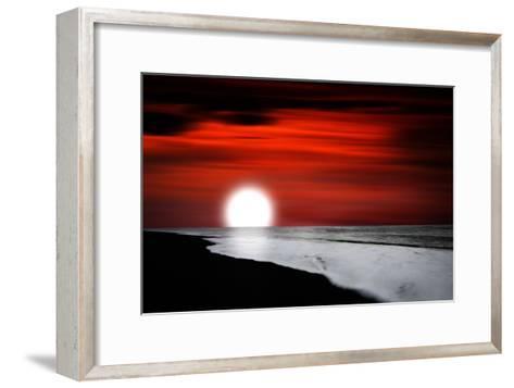 Holding Up-Philippe Sainte-Laudy-Framed Art Print