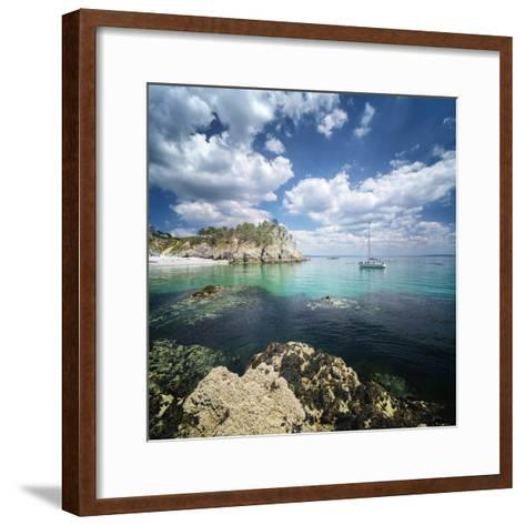 Crozon Paradise-Philippe Manguin-Framed Art Print