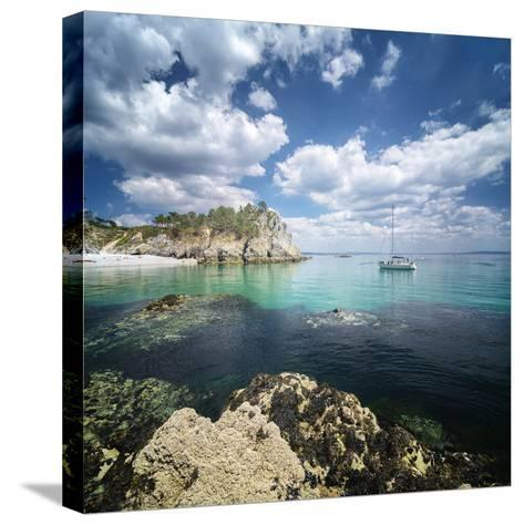 Crozon Paradise-Philippe Manguin-Stretched Canvas Print