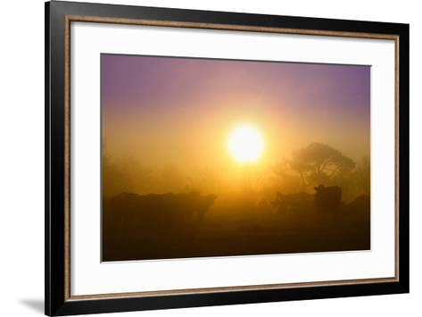 Country Scene-Viviane Fedieu Daniel-Framed Art Print