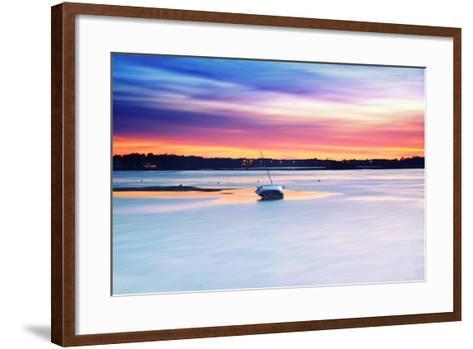 Boat Asleep-Viviane Fedieu Daniel-Framed Art Print