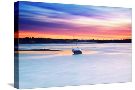Boat Asleep-Viviane Fedieu Daniel-Stretched Canvas Print