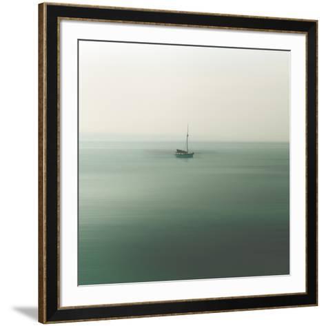 Abstraction Marine-Viviane Fedieu Daniel-Framed Art Print