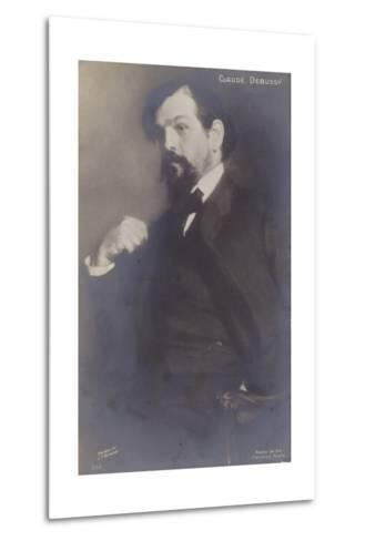 Claude Debussy, French Composer (1862-1918)-Jacques-emile Blanche-Metal Print