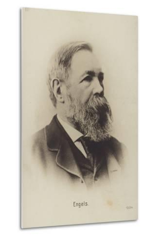 Friedrich Engels (1820-1895), German Political Theorist, Social Scientist and Writer--Metal Print